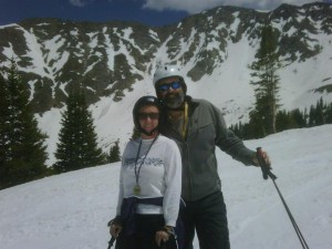Fred&Candia_Skiing