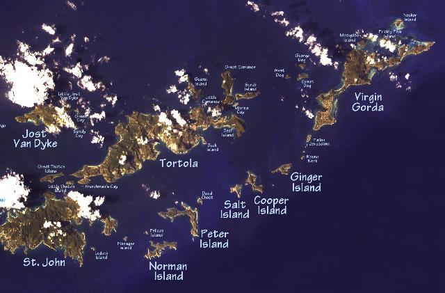 Which Are The Caribbean Islands On Map